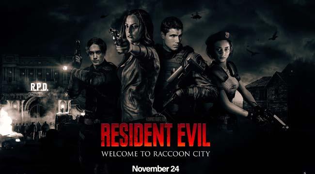 Resident Evil: Welcome to Raccoon City nhá hàng hình ảnh đầu tiên