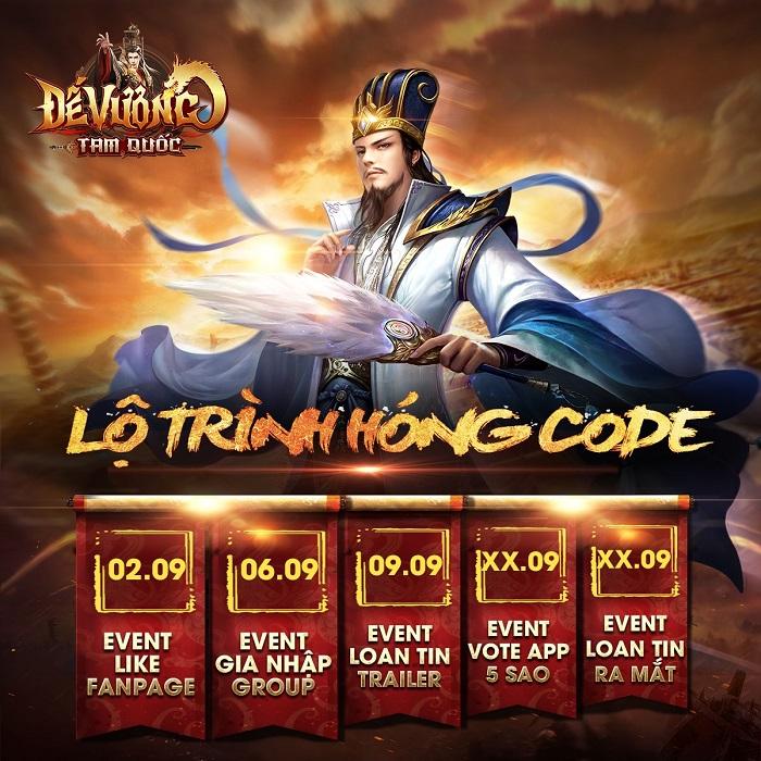 Đế Vương Tam Quốc - Top 1 game chiến thuật Tam Quốc sắp ra mắt game thủ Việt 0