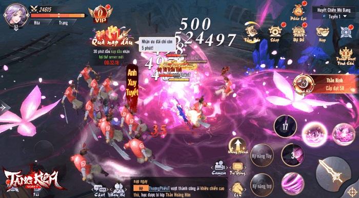 Tặng 999 giftcode Tàng Kiếm Mobile mừng chính thức ra mắt 2