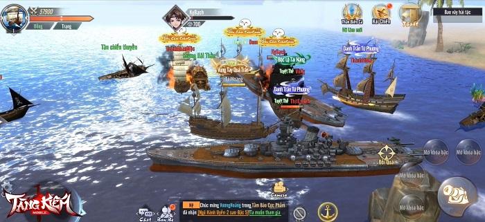 Tặng 999 giftcode Tàng Kiếm Mobile mừng chính thức ra mắt 5