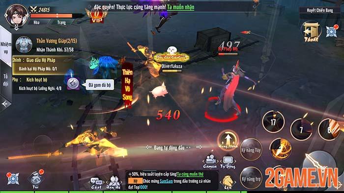 Trải nghiệm Tàng Kiếm Mobile - Game kiếm hiệp ấn tượng đầu tháng 9 2