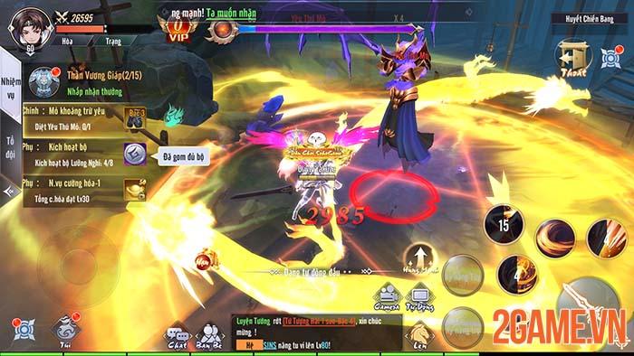 Trải nghiệm Tàng Kiếm Mobile - Game kiếm hiệp ấn tượng đầu tháng 9 3