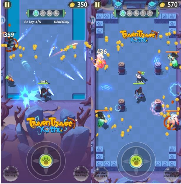 Các yếu tố tạo nên sức hút khó cưỡng tại game mobile Truyền Thuyết Xạ Thủ 1