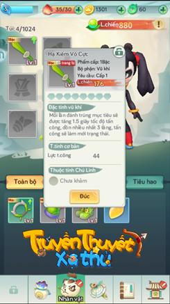 Hướng dẫn Truyền Thuyết Xạ Thủ: Bí kíp nhận trang bị và kỹ năng 2