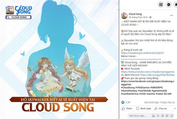 Cloud Song VNG công bố người đồng hành: Chính là nữ streamer nổi tiếng và mỹ nhân của nhóm hài triệu view 0