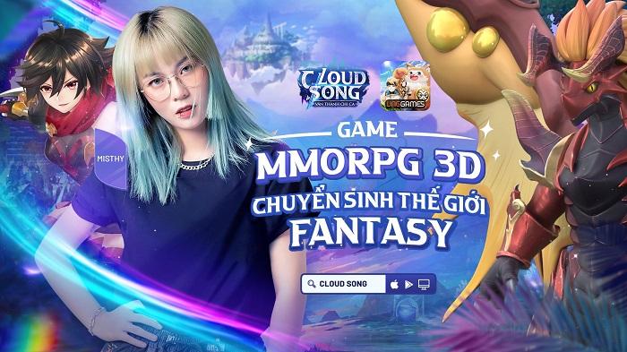 Cloud Song VNG công bố người đồng hành: Chính là nữ streamer nổi tiếng và mỹ nhân của nhóm hài triệu view 2