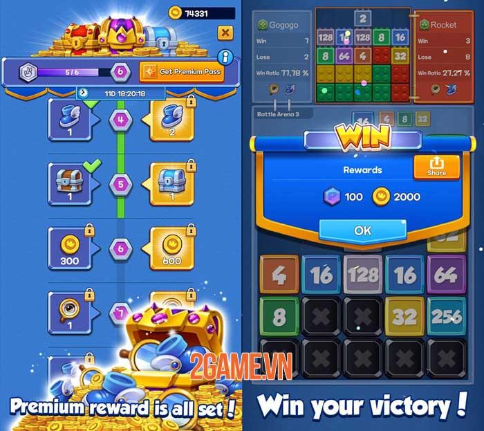 Drop Battle - Game hợp nhất giống Tetris với trọng tâm là PvP 1