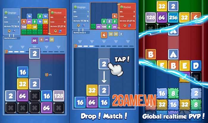 Drop Battle - Game hợp nhất giống Tetris với trọng tâm là PvP 2