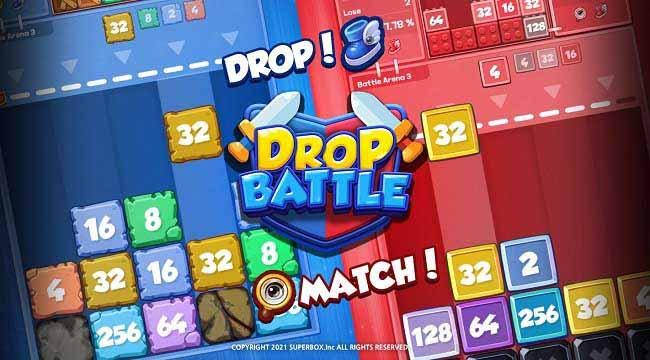 Drop Battle – Game hợp nhất giống Tetris với trọng tâm là PvP