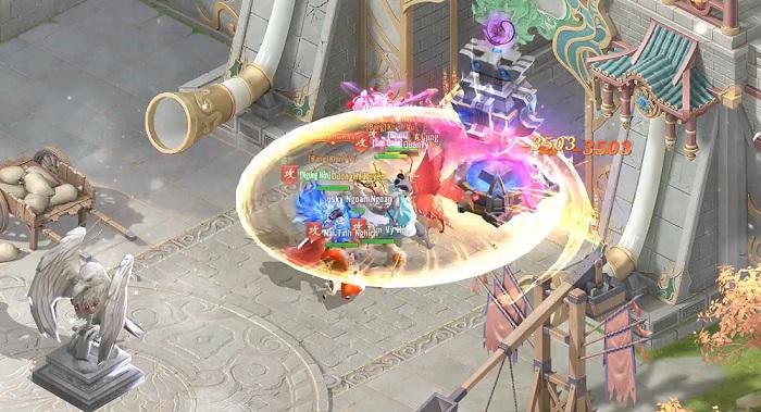 """Điểm mặt những chiến trường khốc liệt kinh điển trong Thần Kiếm Mobile: Các dân chơi """"hệ chiến"""" nhìn phát mê ngay 6"""