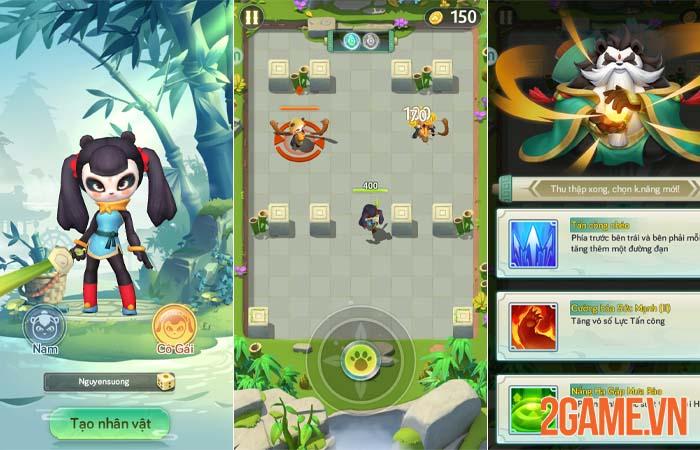 Đánh giá Truyền Thuyết Xạ Thủ - Kungfu Panda với lối chơi đơn giản 0