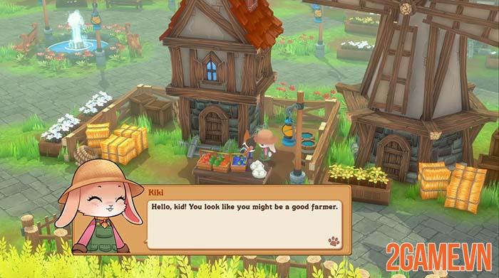 Kitaria Fables - Khi game thủ trở thành mèo làm nông dân và cứu thế giới 2