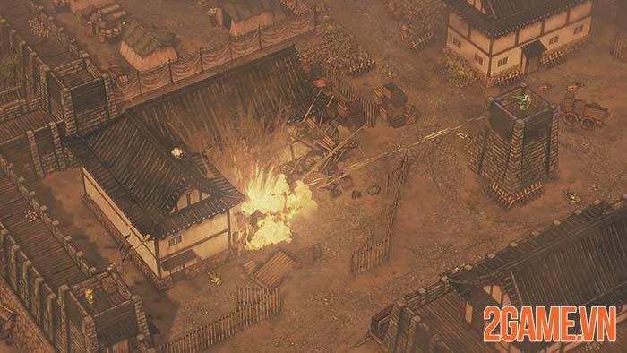 Shadow Tactics: Blades of the Shogun - Mở ra thời đại chiến quốc loạn lạc 4