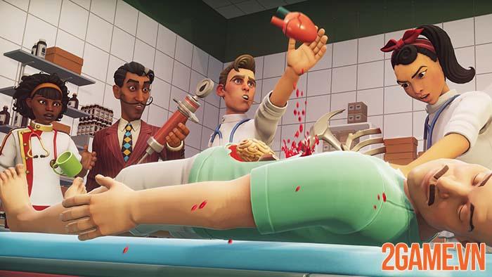 Surgeon Simulator 2 - Trải nghiệm làm bác sỹ tuyến đầu mùa dịch 0