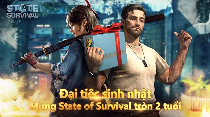 Đại tiệc sinh nhật 2 tuổi của State of Survival sắp diễn ra với sự xuất hiện của Sao Hollywood lẫn Sao Hàn 0
