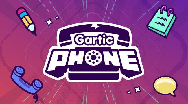 Gartic Phone – Game giải đố tương tác hack não game thủ Việt