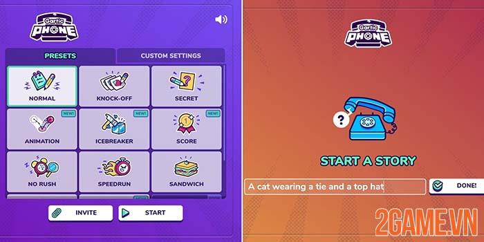 Gartic Phone - Game giải đố tương tác hack não game thủ Việt 0