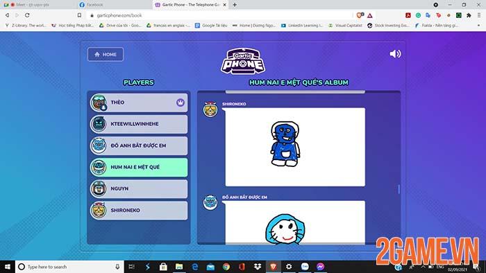 Gartic Phone - Game giải đố tương tác hack não game thủ Việt 2