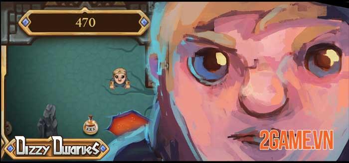 Dizzy Dwarves - Game hành động đơn giản kiểm tra phản ứng game thủ 2