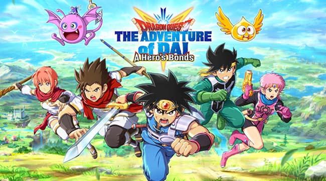 Dragon Quest The Adventure of Dai: A Hero's Bonds đã sẵn sàng ra mắt