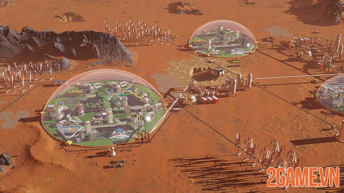 Surviving Mars - Game sinh tồn xây dựng thành phố đang miễn phí 0