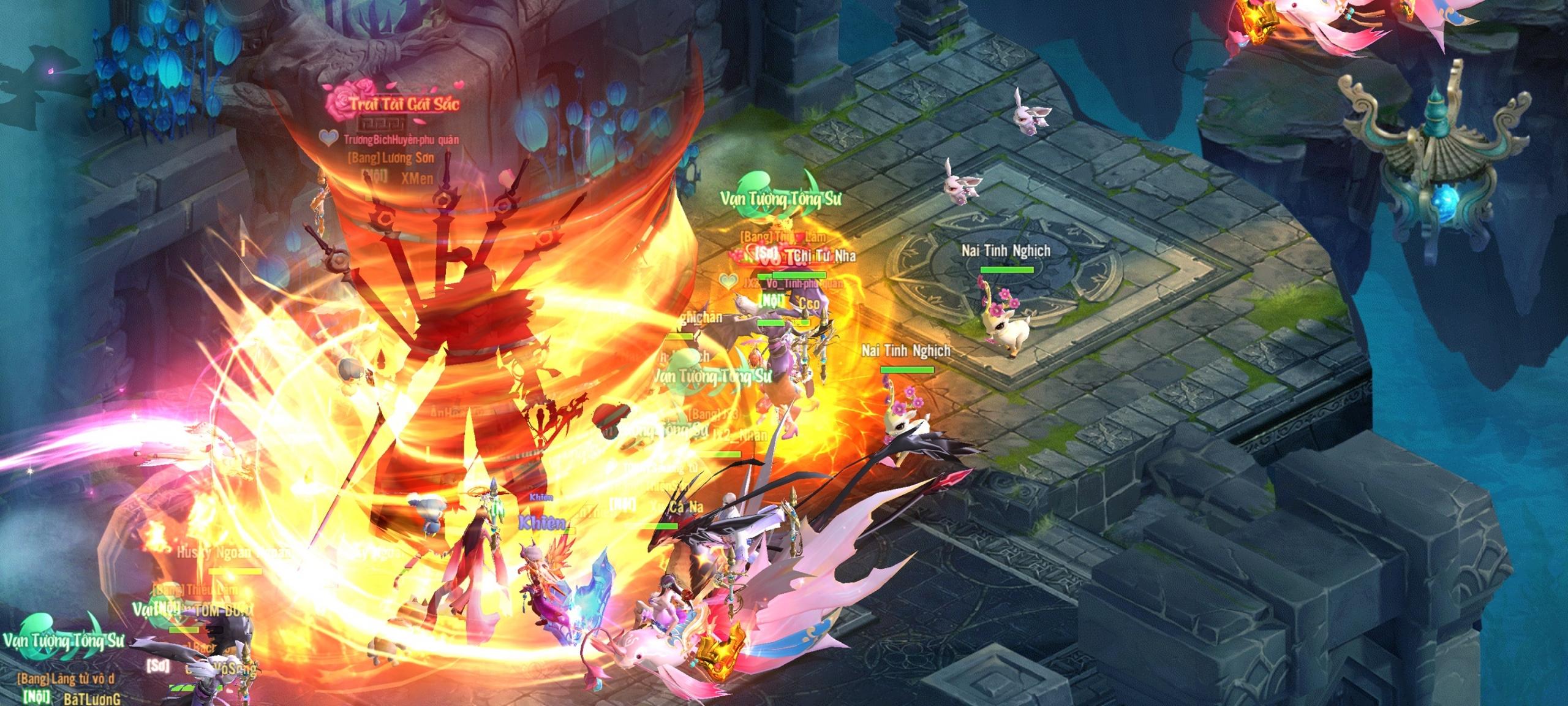 """Nhìn lại ngày ra mắt của Thần Kiếm Mobile: Người đông hơn quái, săn boss mà chậm chân thì """"còn cái nịt""""?! 1"""