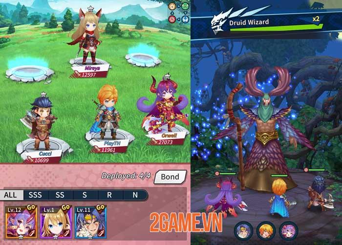 Idle Heroes of Light - Game nhập vai với những trận chiến thú vị và phần thưởng lớn 0