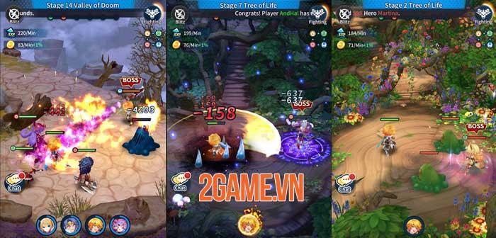 Idle Heroes of Light - Game nhập vai với những trận chiến thú vị và phần thưởng lớn 1