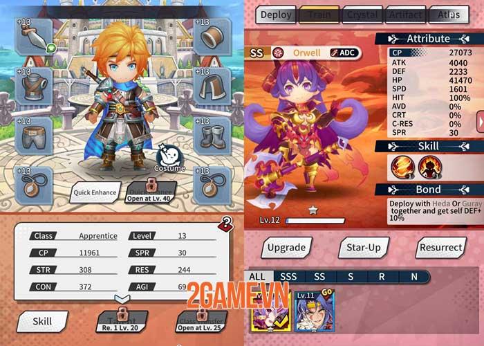 Idle Heroes of Light - Game nhập vai với những trận chiến thú vị và phần thưởng lớn 2