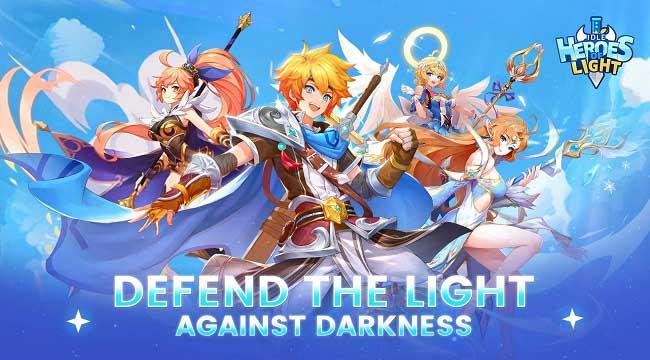 Idle Heroes of Light – Game nhập vai với những trận chiến thú vị và phần thưởng lớn
