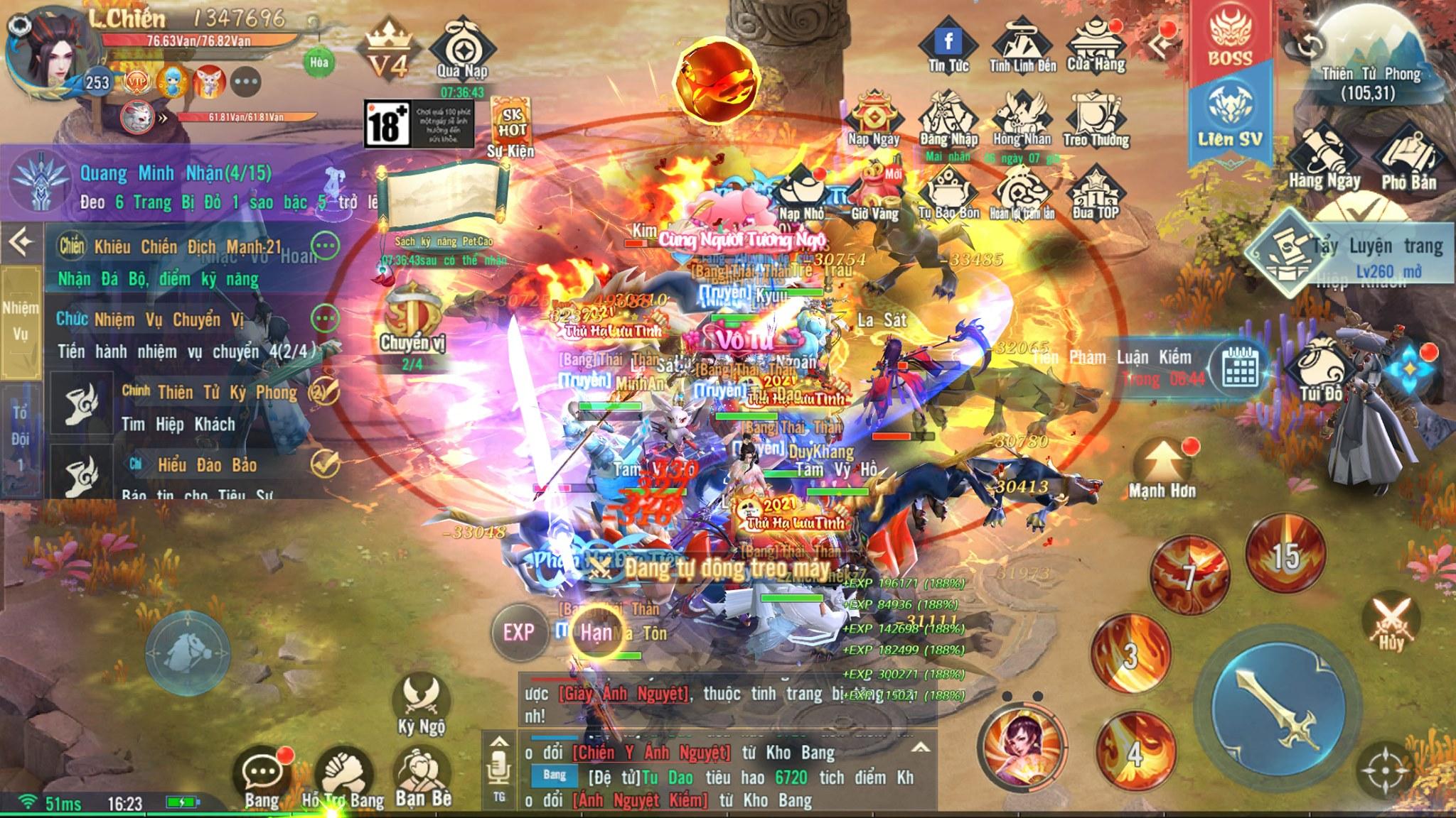 """Nhìn lại ngày ra mắt của Thần Kiếm Mobile: Người đông hơn quái, săn boss mà chậm chân thì """"còn cái nịt""""?! 3"""