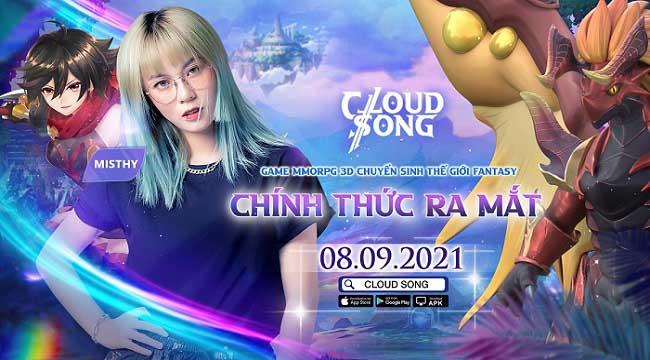 Tặng 500 giftcode Cloud Song VNG mừng ra mắt chính thức thành công