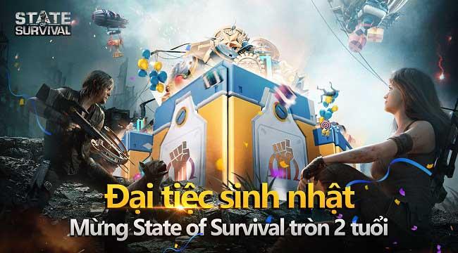 Giấc mơ chơi game trúng siêu xe sẽ trở thành sự thật với sự kiện sinh nhật 2 tuổi của State of Survival