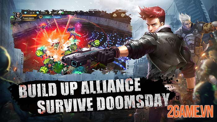 Doomsday of Dead - Game sinh tồn lấy bối cảnh thế giới thây ma 0