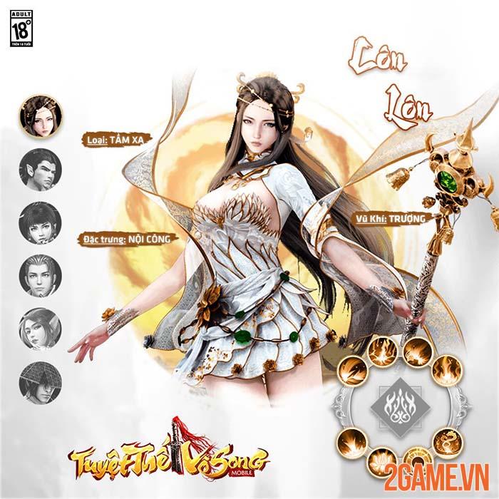 Tuyệt Thế Vô Song Mobile - Game kiếm hiệp hoành tráng chuẩn bị ra mắt 2