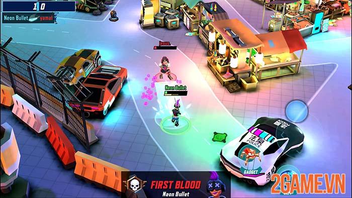 Gridpunk - Game bắn súng 3 vs 3 với phong cách tương lai 0