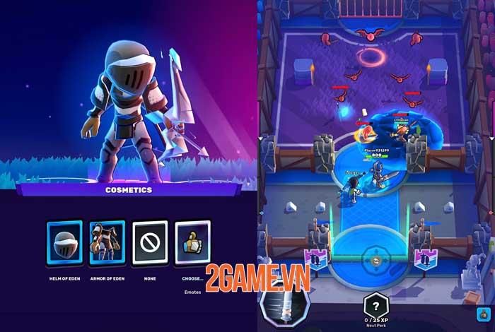 Knight's Edge - Game hành động 3v3 phá ngục tối 0