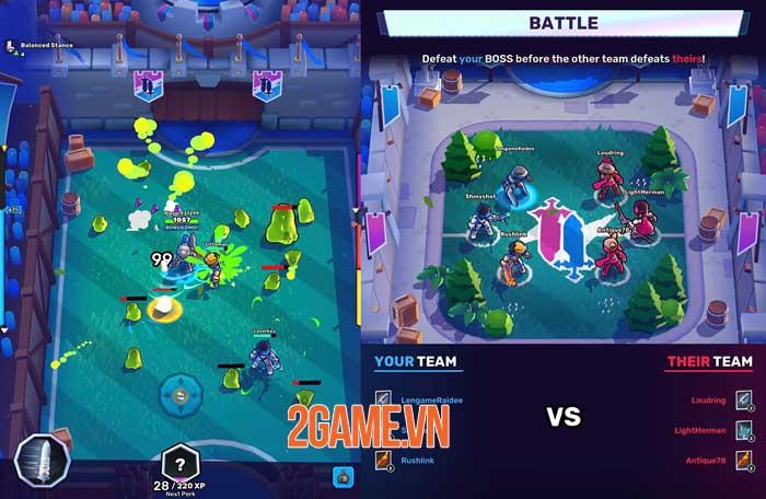 Knight's Edge - Game hành động 3v3 phá ngục tối 2