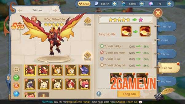 Pet trong Cloud Song VNG: Cách nâng cấp sức mạnh toàn diện và gợi ý một số kiểu kết hợp 3