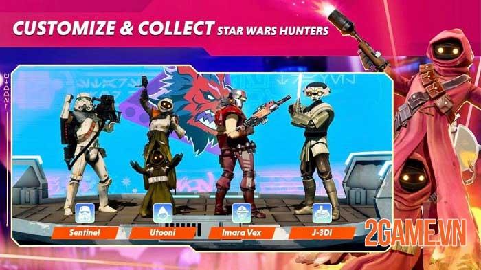 Star wars: Hunters - Gia nhập thiên hà và thống trị các trận đấu nhóm thời gian thực 0