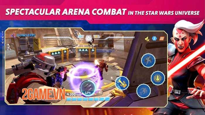 Star wars: Hunters - Gia nhập thiên hà và thống trị các trận đấu nhóm thời gian thực 1