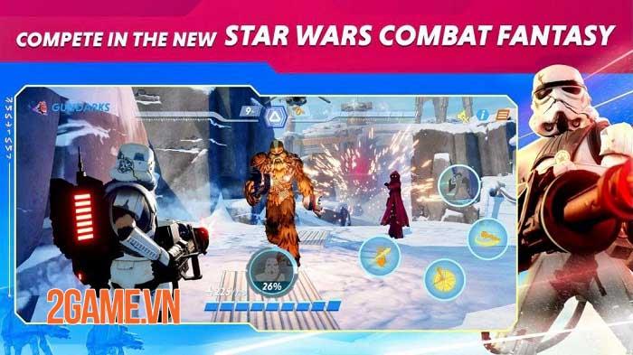 Star wars: Hunters - Gia nhập thiên hà và thống trị các trận đấu nhóm thời gian thực 3