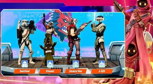 Star wars: Hunters – Gia nhập thiên hà và thống trị các trận đấu nhóm thời gian thực