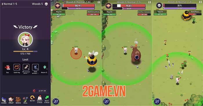 Vamp - Lord of Blood: Game nhập vai đồ họa pixel với lối chơi Hack và Slash 0
