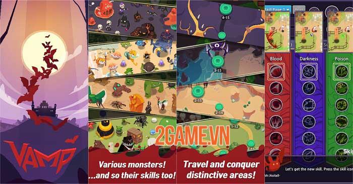Vamp - Lord of Blood: Game nhập vai đồ họa pixel với lối chơi Hack và Slash 1