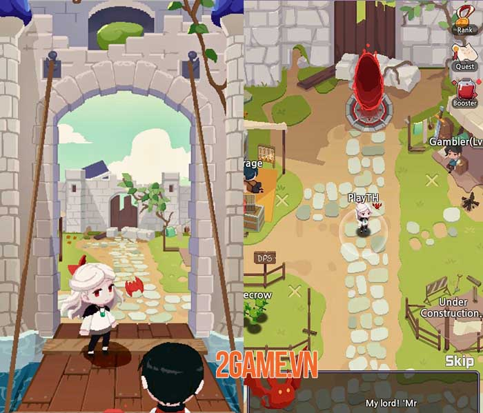 Vamp - Lord of Blood: Game nhập vai đồ họa pixel với lối chơi Hack và Slash 2