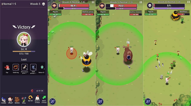 Vamp – Lord of Blood: Game nhập vai đồ họa pixel với lối chơi Hack và Slash