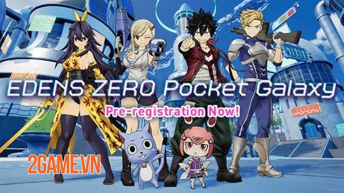 EDENS ZERO Pocket Galaxy - Game nhập vai hành động dựa trên anime và manga 0