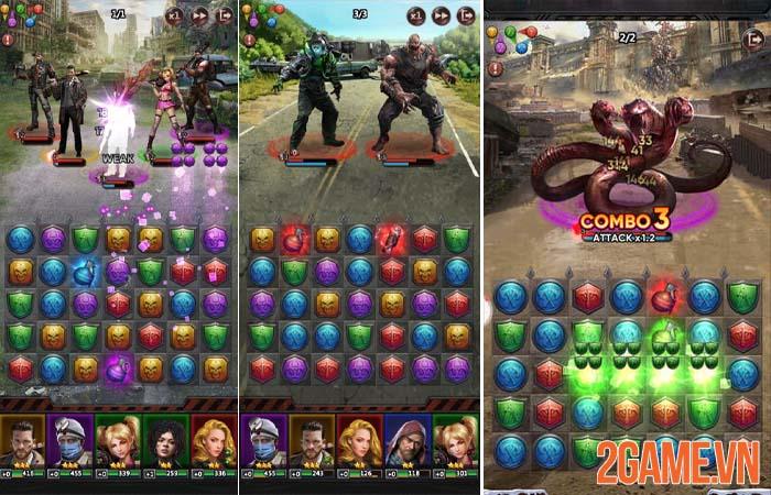 Puzzles Survival - Game sinh tồn kết hợp xếp hình sơ ngộ game thủ Việt 1