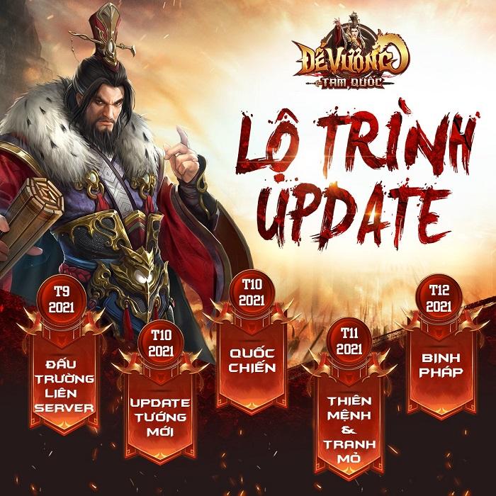 Đế Vương Tam Quốc là Top 1 game chiến thuật Tam Quốc bởi những hoạt động này?! 0